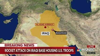 Misséis atingem base aérea no Iraque usada por militares americanos e Irã assume ataque