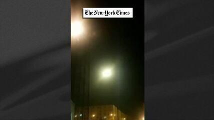 Especialista analisa vídeo em que míssil atinge avião ucraciano que caiu