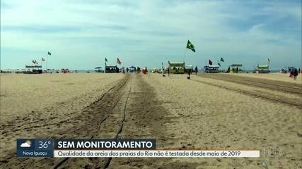 Qualidade da areia das praias do Rio não é testada desde maio de 2019