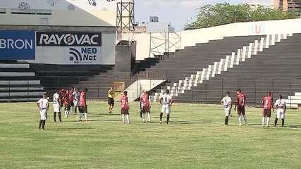 Gol de Central 1 x 0 São Paulo Crystal-PB