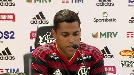 Pedro Rocha diz sonhar com o momento de entrar no Maracanã com a camisa do Flamengo