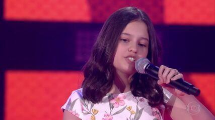 Ana Julia Poletto canta 'Jailhouse Rock' nas Audições às Cegas