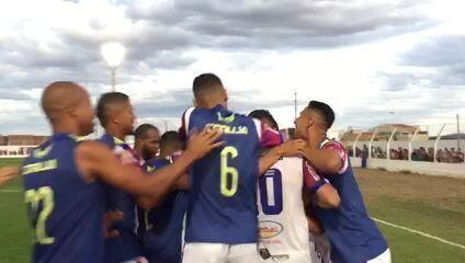 Veja o gol de Diego Ceará na virada contra o Salgueiro