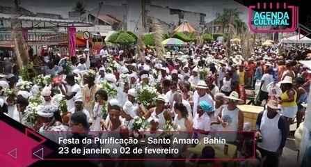 Agenda Cultural: Festa da Purificação acontece de 23/01 a 02/02, em Santo Amaro