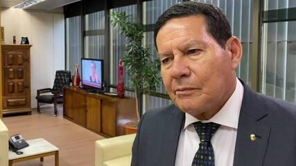 'Melhor do que nunca', diz Mourão sobre Salles após criação do Conselho da Amazônia