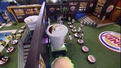 Camarote e Pipoca se comunicam durante a Prova de Imunidade do Burger King