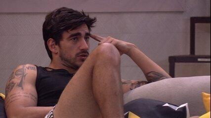 Guilherme comenta em conversa: 'Eu era muito impulsivo'