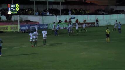 Os melhores momentos de CEO 0 x 1 CSA pela abertura do Campeonato Alagoano