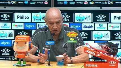 Coletiva de imprensa do técnico Jesualdo Ferreira após empate com o Bragantino