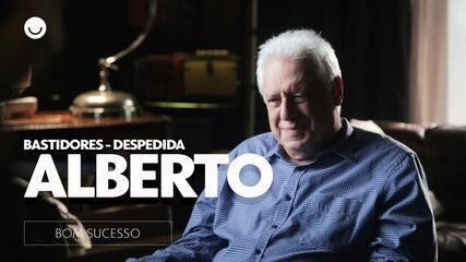 Veja os bastidores da despedida de Alberto