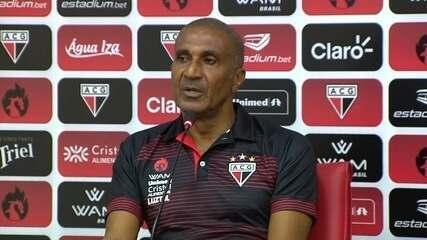 Assista à apresentação de Cristóvão Borges no Atlético-GO