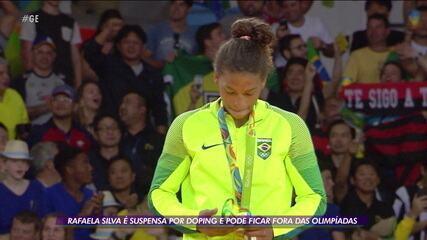 Rafaela Silva é suspensa por doping e pode ficar fora da Olimpíada de Tóquio