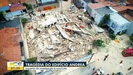 Inquérito do desabamento do Edifício Andrea é concluído