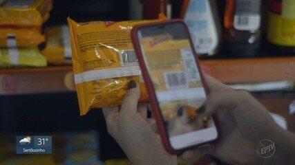 Tecnologia possibilita cliente fazer compras sozinho usando apenas o celular