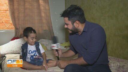 Família do Sol Nascente vive luto, mas comemora recuperação de menino de 4 anos