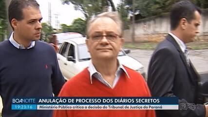 Ministério Público critica decisão do Tribunal de Justiça de anular sentença de Bibinho