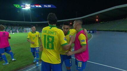 Melhores momentos de Brasil 2 x 1 Paraguai pelo Pré-Olímpico Sub-23