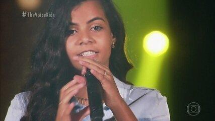 """Cybeli Cardoso canta """"O Sol"""" nas Audições as Cegas"""