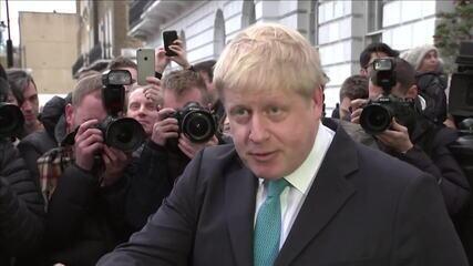 Brexit: premiê do Reino Unido recusa acordo comercial baseado em regras da União Europeia