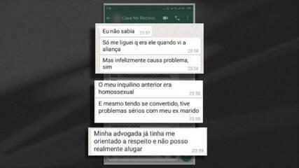Proprietária desiste de alugar imóvel no Rio para casal gay