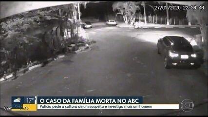 Polícia pede a soltura de um suspeito na morte de família do ABC