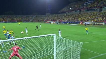 Melhores momentos: Argentina 0 x 3 Brasil pela quadrangular final do pré olímpico
