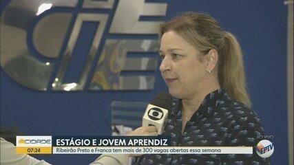 CIEE oferece 300 vagas de estágio em Ribeirão Preto e Franca, SP