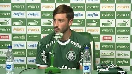 Veja como foi a apresentação de Matías Viña no Palmeiras