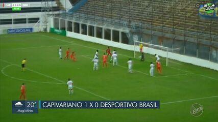 Capivariano vence Desportivo Brasil na Série A3