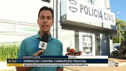 Policiais são presos em operação contra corrupção
