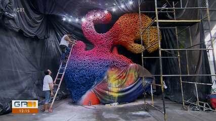 Galo da Madrugada está no fim dos preparativos para carnaval em Recife