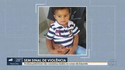 Corpo do garoto Eduardo de Oliveira está no IML de Betim, na Grande BH