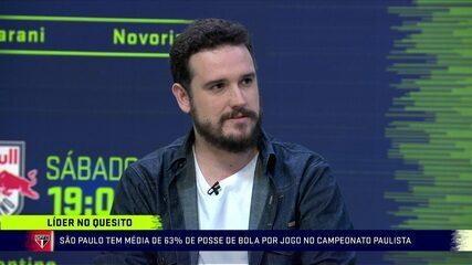 """""""São Paulo tem muita posse e menos agressividade"""", afirma Raphael Rezende"""