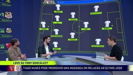 """""""O Corinthians está muito exposto na perda da bola"""", alerta Raphael Rezende"""