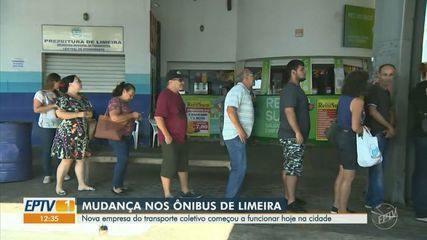 Nova empresa de transporte coletivo começa a funcionar em Limeira