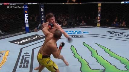 Melhores Momentos de John Dodson x Nathaniel Wood pelo UFC Rio Rancho em 15/02/2020