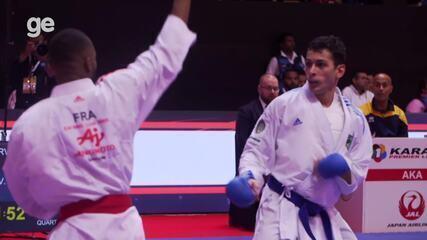 Vinicius Figueira é prata em Dubai e fica perto da vaga olímpica