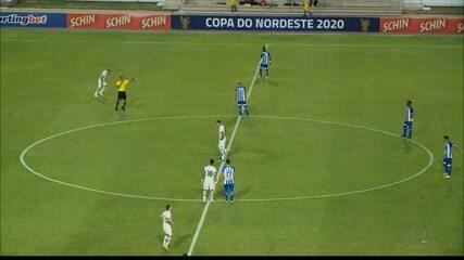 Reportagem de CSA 0 x 1 Botafogo-PB, pela Copa do Nordeste
