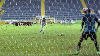 Os pênaltis de Oeste 1 (2) x (4) 1 Ceará pela Copa do Brasil