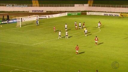 URT vai mal e perde para Boa Esporte em Varginha pelo Mineiro