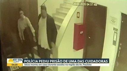 Polícia pede prisão de cuidadora de médico que morreu durante assalto em SP