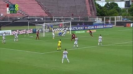 Melhores momentos de Ituano 2 x 0 Santos pela 7ª rodada do Campeonato Paulista