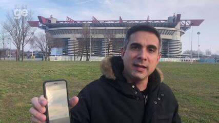 De férias na Itália, Gustavo Villani relata problemas no país por causa do coronavírus