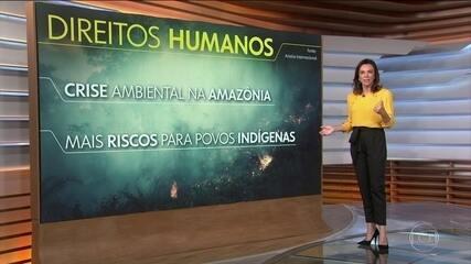 Anistia aponta que 2019 foi marcado por retrocessos para os direitos humanos no Brasil