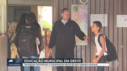 Servidores municipais da educação entram em greve em Belo Horizonte