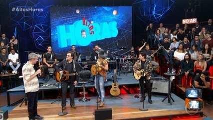 Musical Chitãozinho & Xororó cantam no Altas Horas