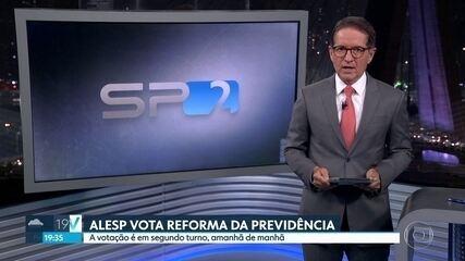ALESP vota nesta terça a reforma da previdência estadual