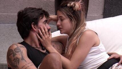Gabi para Guilherme: 'Tive medo de te perder'