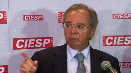 Paulo Guedes diz que cenário econômico segue movimento natural