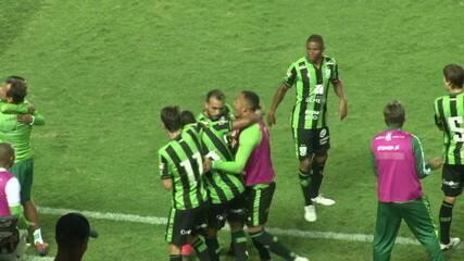 Os gols de Operário-PR 0 x 2 América-MG pela segunda fase da Copa do Brasil 2020